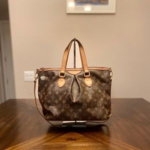Louis Vuitton Monogram Palermo Shoulder Bag PM